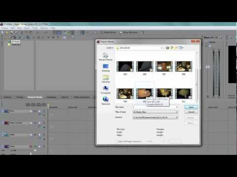 How To Open MP4 Files In Sony Vegas