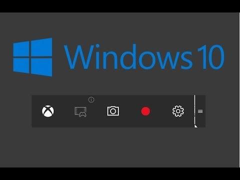 Как записать геймплей в Windows 10 без сторонних программ