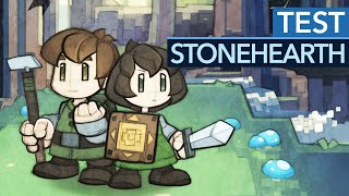 Stonehearth im Test / Review - Flucht aus dem Early Access
