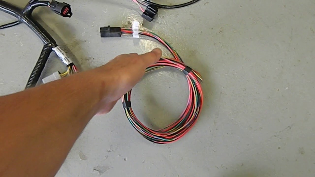 Efi Wiring Harness M 12071 A50 House Diagram Symbols Verado Ford 5 0 Youtube Rh Com Ecu Carburetor