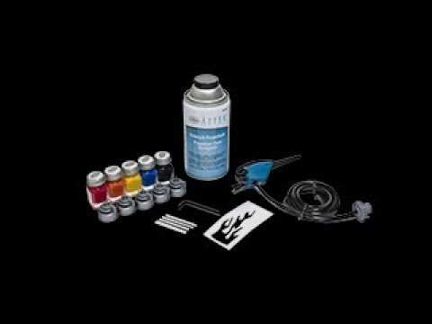 Testors Amazing Air Airbrush Paint Set Review