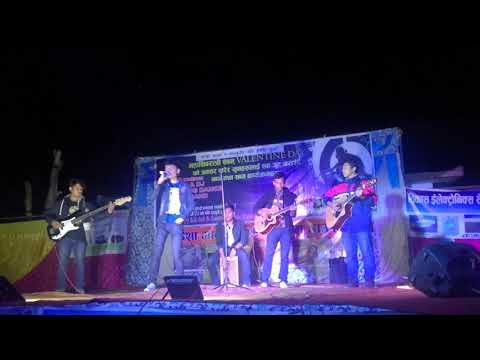 attention-(charlie-puth)---sakriya-band-(gautam-magar)-sivaratri-programme-feb13-2018-basgadhi..