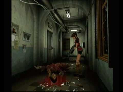 Resident Evil 2 Licker Head Drop Scene Youtube