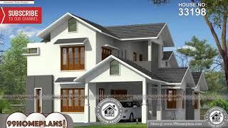 Indian House Design By 99HOMEPLANS COM [ Esp: M084 ]