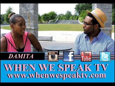 Gospel Singer Damita Interview On When We Speak