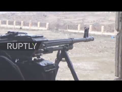 Syria: SAA forces continue battle inside Deir ez-Zor siege *EXCLUSIVE*