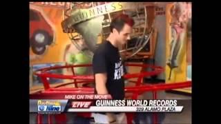 Sam Sprague Guinness World Records Museum San Antonio