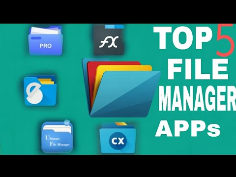 Top 5 File Manager App For Android || ALTERNATIVE TO ES FILE EXPLORER
