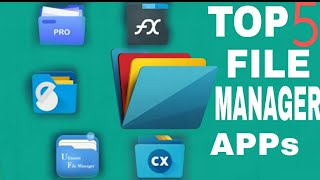 Top 5 file manager app for Android || ALTERNATIVE TO ES FILE EXPLORER screenshot 5