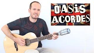 Acordes BRITPOP OASIS - Guitarra Acústica Principiantes +TAB