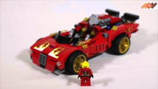 Конструктор Лего Ниндзяго (Lego Ninjago)  Ниндзя-перехватчик Х-1 70727(, 2014-11-17T14:49:05.000Z)