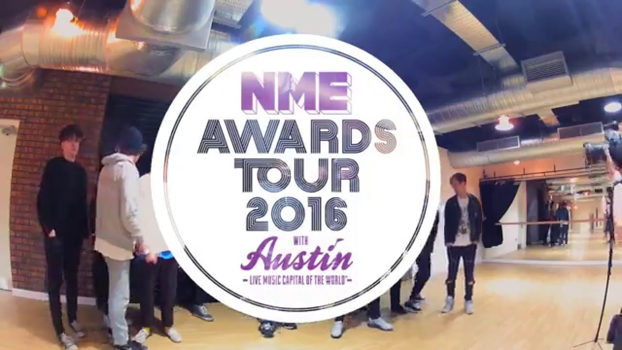 Behind The Photoshoot - NME Awards Tour 2016 - Backstage, Cardiff (29/01/16)