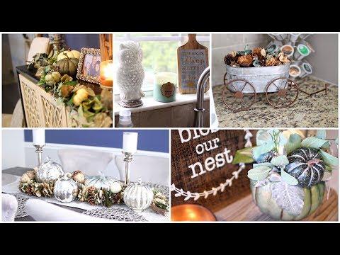 FALL HOME DECOR 2017 | How I Decorate for Autumn!