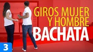 GIROS BÁSICOS para Bailar BACHATA | Cómo Bailar Bachata – Bachata para Principiantes #3