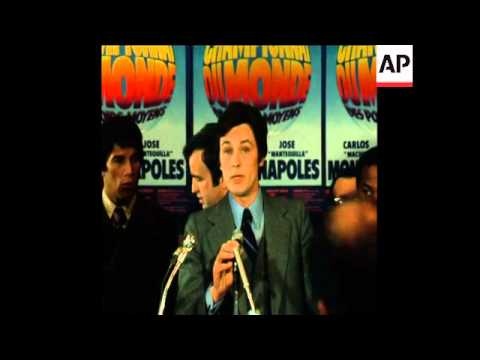 LIB 07/02/74 PRESS CONFERENCE WITH BOXERS MONZON AND NAPOLES
