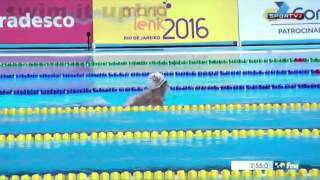 Troféu Maria Lenk 2016 - 400 medley masculino final A