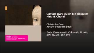 Cantate BWV 85 Ich bin ein guter Hirt: III. Choral