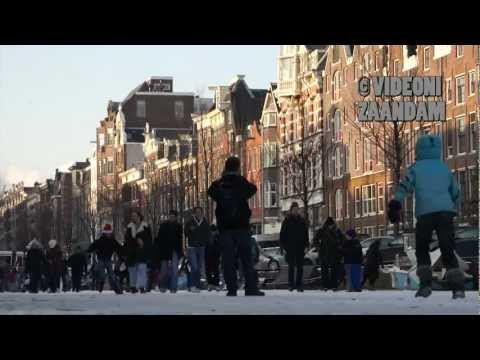NEDERLAND, AMSTERDAM LOVES WINTER TOO