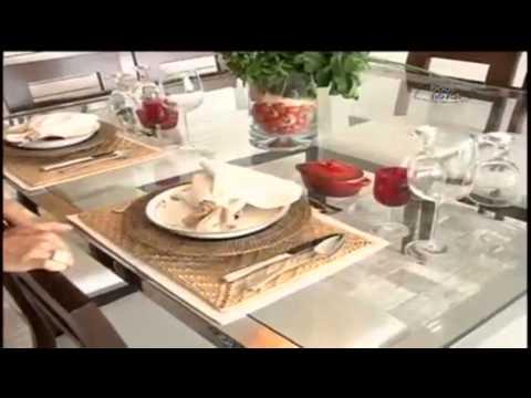 Como preparar uma mesa bacana!