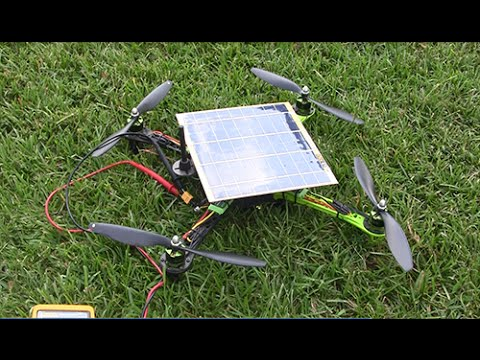 Xsol-E1.1 (solar power quadcopter - more detail)