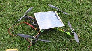 Xsol-E1.1 (solar power quadcopter - more detail)