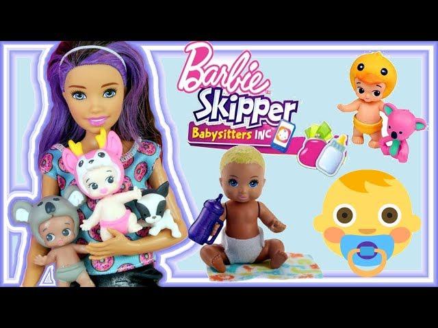 Barbie Skipper Babysitters & Twozies • Opiekunka do Dzieci • bajki dla dzieci