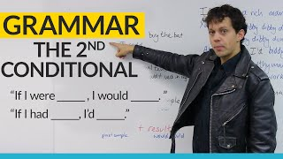 learn english grammar the 2nd conditional would could
