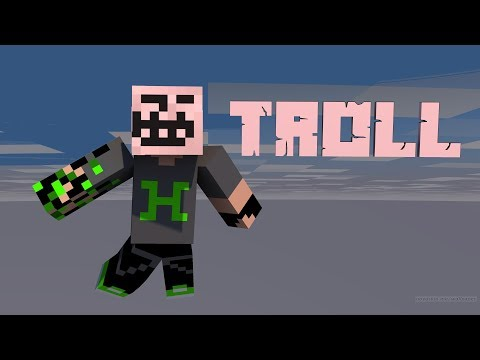 Minecraft Troll Yapılar /w Youtuber Ekip