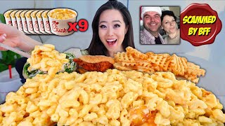NEW! CHICK-FIL-A CREAMY MAC N CHEESE MUKBANG