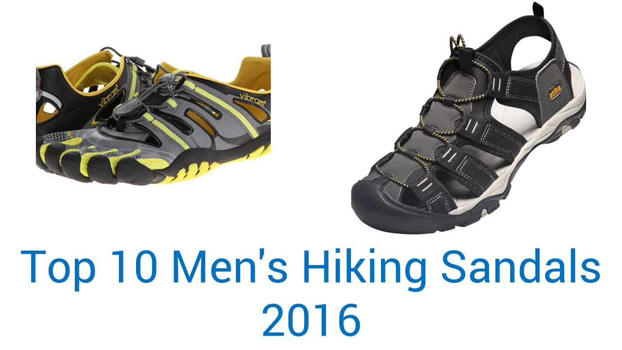 ab8a6b1b4 10 Best Men's Hiking Sandals 2016 - YouTube