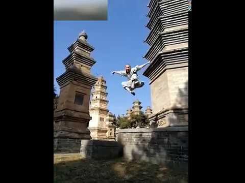 正宗的少林寺武功 Authentic Shaolin Temple martial arts