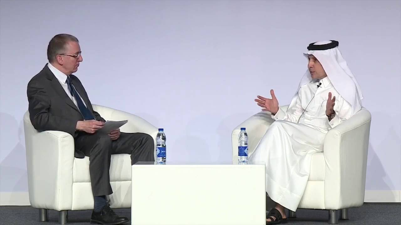 Interview with Group Chief Executive of Qatar Airways, Akbar Al Baker at  ATM (April 2016)