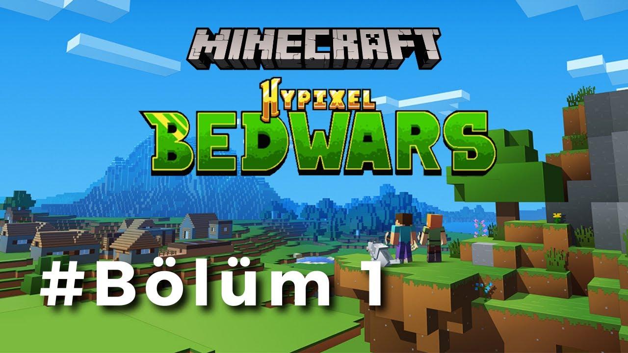 Minecraft   Bedwars Hypixel   Bölüm1