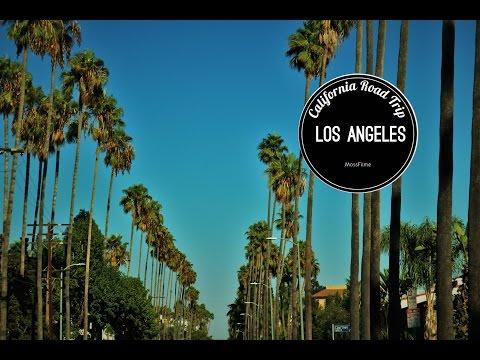 Sonnenuntergang in den Hollywood Hills - Los Angeles | CALIFORNIA ROAD TRIP #6