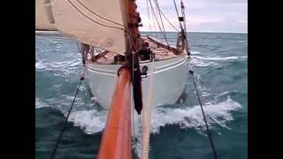 Stirling and Son gaff cutter classic yacht sailing Integrity 2013