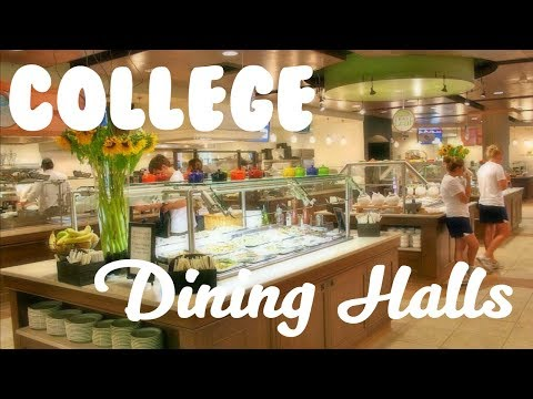 HOW TO MAKE HEALTHY CHOICES IN YOUR COLLEGE DINING HALL