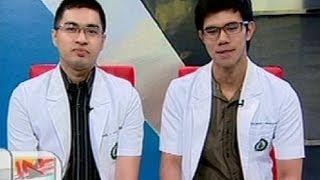UB: Panayam sa 2 nakapasa at nag-tie sa 2nd place sa Physician Licensure Exam