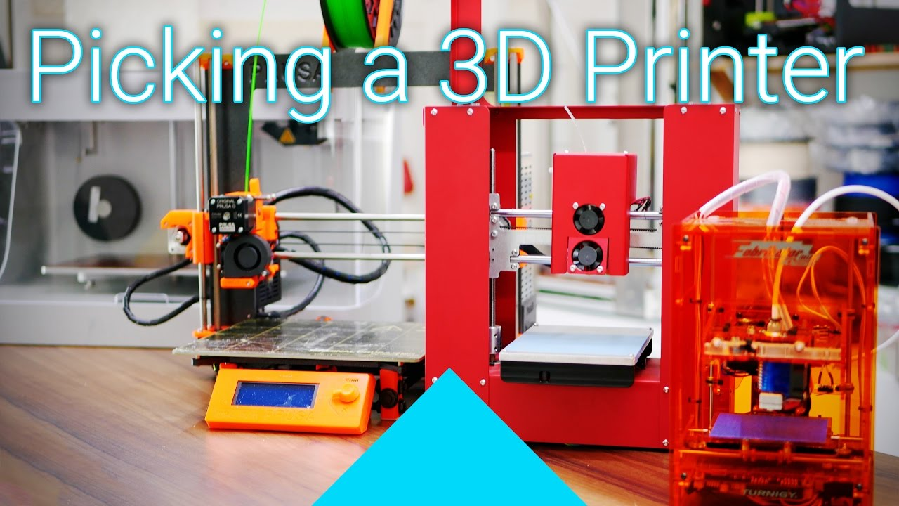 What to consider when buying (or making) a 3D printer! [was live]