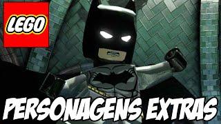 Lego Batman 3 - Dark Knight e Homem de Aço PERSONAGENS EXTRAS