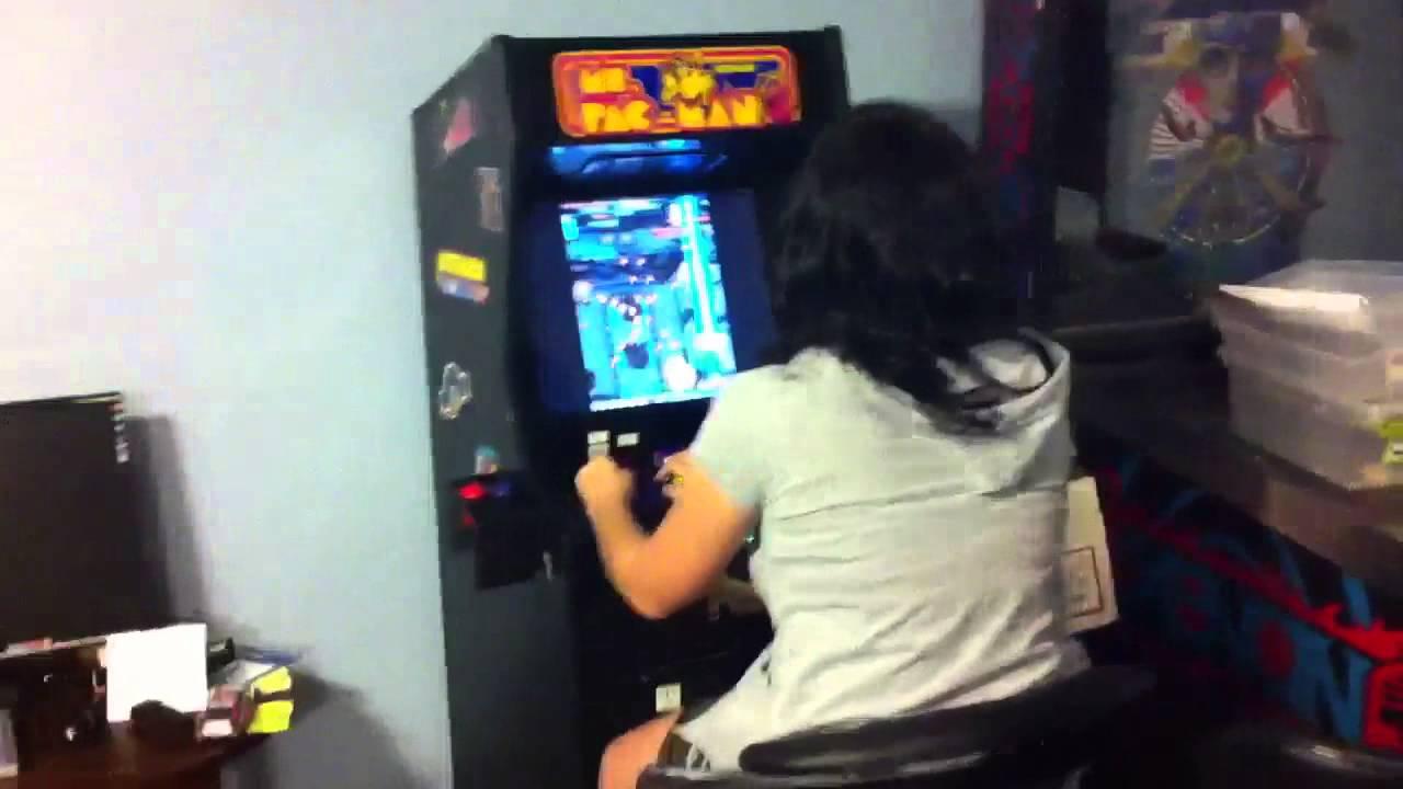 Cabaret arcade cabinet - YouTube