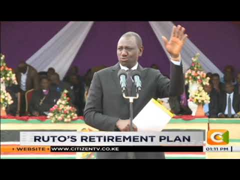 Dp Ruto says he will leave politics in 10 years
