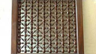 Moroccan Wood Lattice Screens - Jali Screens - Moroccan Latticework - Mashrabiyah