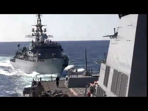 Russian Ship 'aggressively' Approaches Destroyer: US Navy