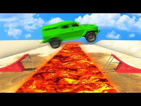 IMPOSSIBLE INSURGENT vs. INSURGENT JUMPS! (GTA 5 Funny Moments)