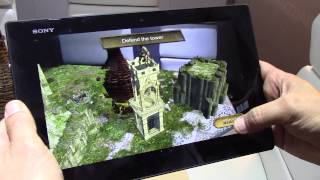 Hands on with Qualcomm Vuforia Smart Terrain Augmented Reality at CES 2014