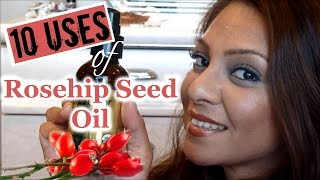 10 Uses for Rosehip Seed Oil │Anti-Aging, Botox Effect, Lift Saggy Skin │Miranda Kerr Beauty Secret