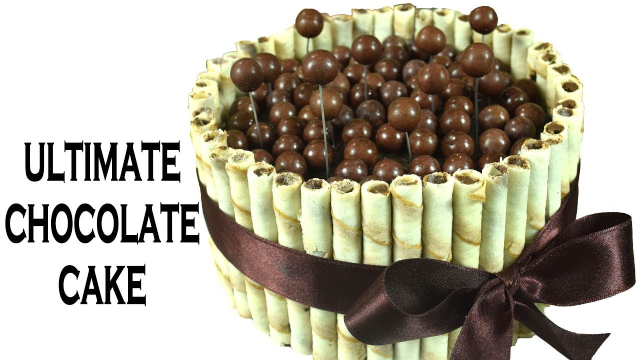Ultimate Chocolate cake Cadbury Shots Maltesers Chocolate Cake