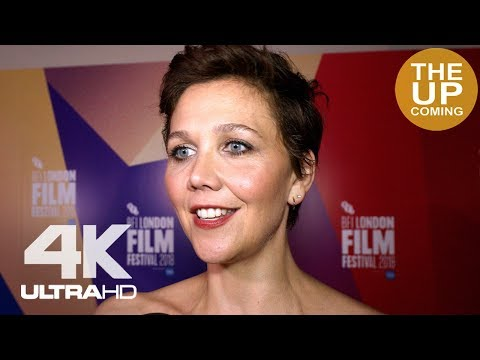 Maggie Gyllenhaal on The Kindergarten Teacher at London Film Festival premiere