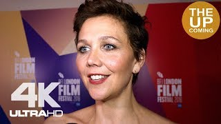Maggie Gyllenhaal on The Kindergarten Teacher at London Film Festival premiere