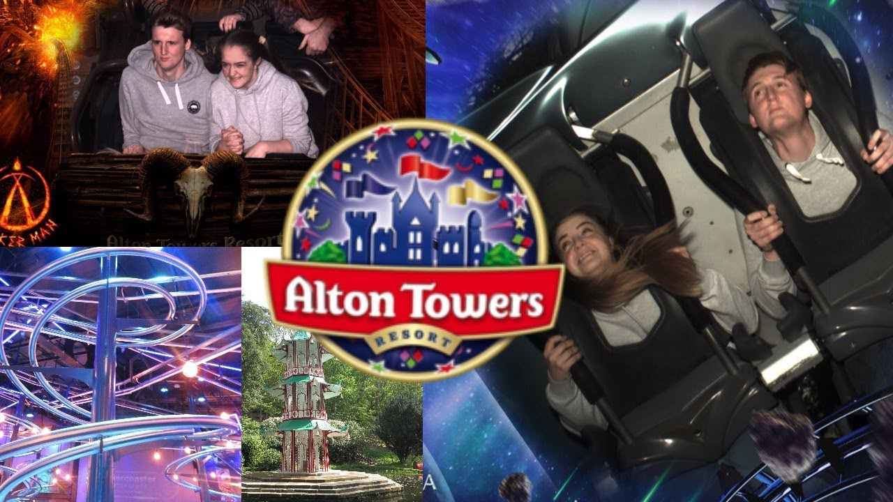 Alton Towers Trip & Rollercoaster Restaurant Review!